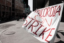 concordia university studentson strike